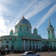 Kursk. Znamensky a monastery. A cathedral of an icon of Bozhiej — Stock Photo #4078770