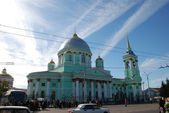 Kursk. Znamensky a monastery. A cathedral of an icon of Bozhiej — Photo