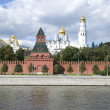 The Kremlin quay — Stock Photo