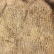 Brown burlap cloth — Stock Photo