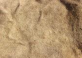 Brown burlap cloth — Stock Photo