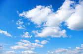 White clouds — Stockfoto