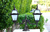 Luce decorativa della strada — Foto Stock