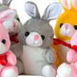 Stock Photo: Toy rabbits