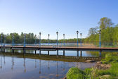 Dock am see — Stockfoto