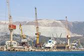 Seaport — Stockfoto