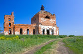 Zerstörte Kirche — Stockfoto