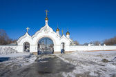 Entrance to monastery — Stock Photo