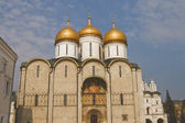 Assumption Cathedral in Moskow Kremlin — Stock Photo