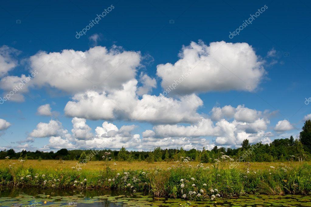夏天风景美丽的云 — 照片作者