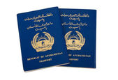 Republiken afghanistan passport — Stockfoto