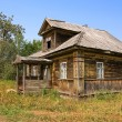 Old wooden house in village — Stock Photo #4916396