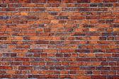 Un vieux fond de mur de brique — Photo