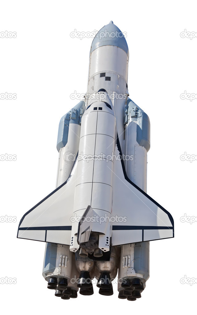 Spaceship Buran in Samara, Russia — Stock Photo #5303348