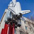 Spaceship Buran in Samara, Russia — Stock Photo