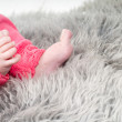 Body parts: baby feet — Stock Photo #4862385