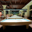 Billiard room — Stockfoto