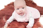 Zoete weinig baby — Stockfoto