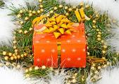 Gåva till jul — Stockfoto
