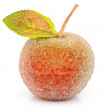 Christmas-tree decoration-glass apple — Stock Photo