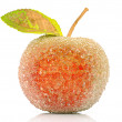 Stock Photo: Christmas-tree decoration-glass apple