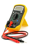 Multimeter with cables — Stock Photo