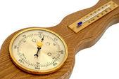 барометр и термометр — Стоковое фото