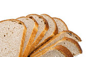 White loaf slices — Stock Photo