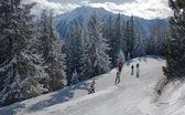 Ośrodek narciarski schladming. Austria — Zdjęcie stockowe