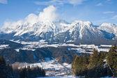 Ski resort schladming. avusturya — Stok fotoğraf