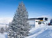 滑雪度假村萨尔斯堡。奥地利 — 图库照片