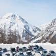 Stock Photo: Parking. Dachstein. Austria