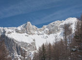 View to the Dachstein. Austria — Stock Photo
