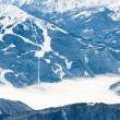 The view from the observation deck. Dachstein glacier. Austria — Stock Photo #4528048
