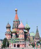 Cattedrale di San Basilio. Mosca — Foto Stock
