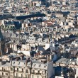 Roofs of Paris. France — Stock Photo #4833572