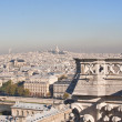 View of Paris. France — Stock Photo
