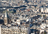 Roofs of Paris. France — Stock Photo