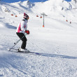 Womis skiing at ski resort Solden — Stock Photo #4858085