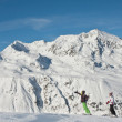 Ski resort Hohrgurgl. Austria — Stock Photo #5033100