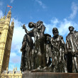 "Auguste Rodin Sculpture Group ""Citizens of Calais"". London — Stock Photo #5174857"