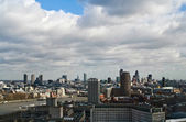 View at London from London Eye — Stock Photo