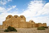 Qasr Amra desert castle. Jordan — Stock Photo