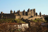 Carcassonne,the old city,France — Stock Photo