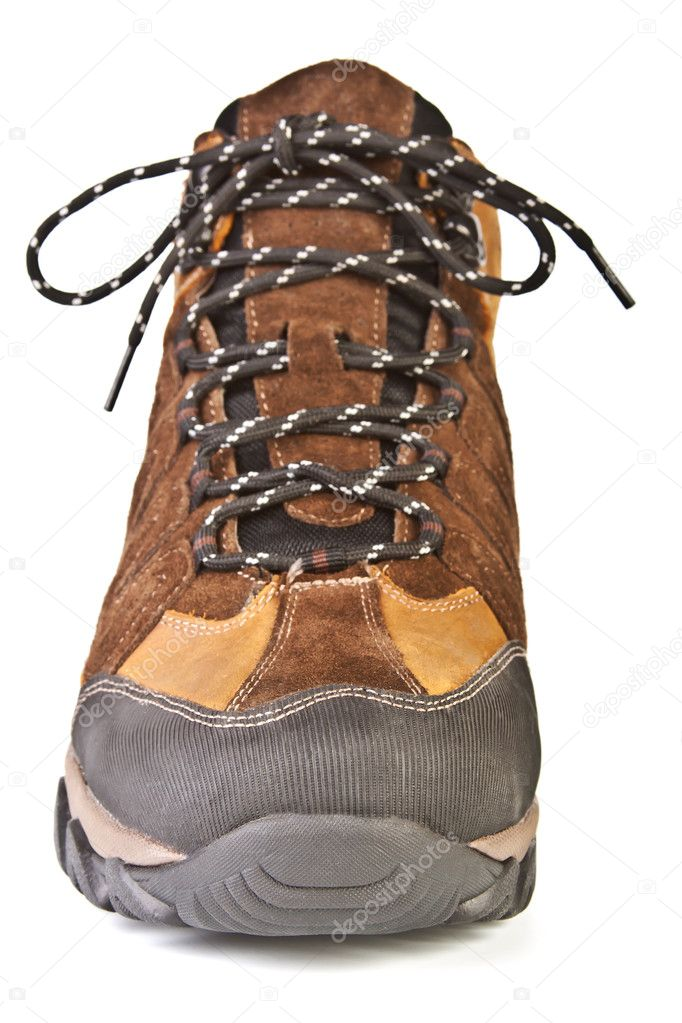 Mens shoes front view — Stock Photo © -vvetc- #4221715
