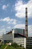 Energii, produkcji stacji — Zdjęcie stockowe