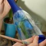 Glass bottle — Stock Photo