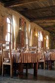 Restaurace ve stylu hradu — Stock fotografie