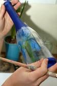 Botella de cristal — Foto de Stock