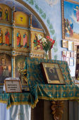 Interior of the Orthodox Church — 图库照片